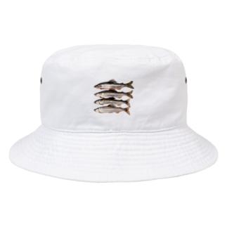 1997年の鮎 @球磨川 Bucket Hat