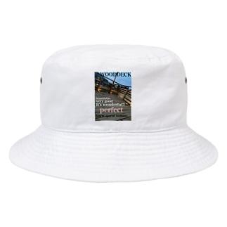 神戸英雄斗のウッドデッキプリ Bucket Hat