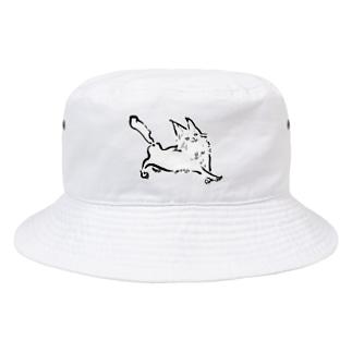 ルンルンねこ Bucket Hat