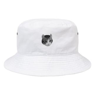 毛を逆立てる リ Bucket Hat
