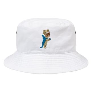 くまおうなみこと Bucket Hat