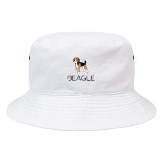 BEAGLEロゴ&イラスト Bucket Hat