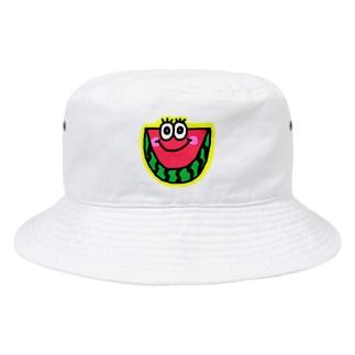 スイカくん🍉💗 Bucket Hat