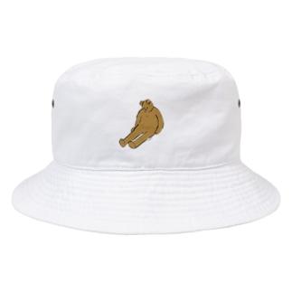 くたびれ Bucket Hat
