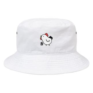 酉 とり Bucket Hat