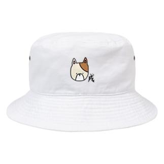 あおい¨̮♪の戌 いぬ Bucket Hat