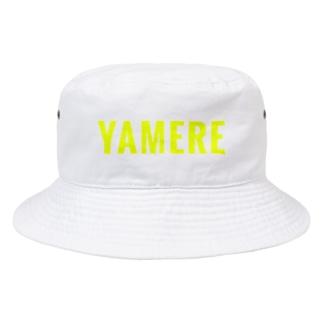 YAMERE(イエロー) Bucket Hat