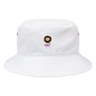 幸せわんこ Bucket Hat