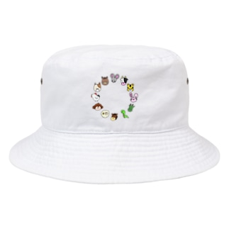 十二支 干支 Bucket Hat