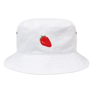 いちごはっと Bucket Hat