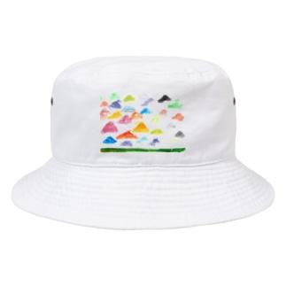 虹色のやね Bucket Hat