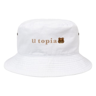 ゆーとぴあ Bucket Hat