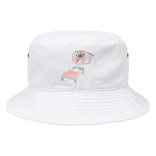 THREE IN A BED USASA Bucket Hat