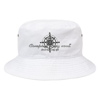 Compass is my soul Bucket Hat