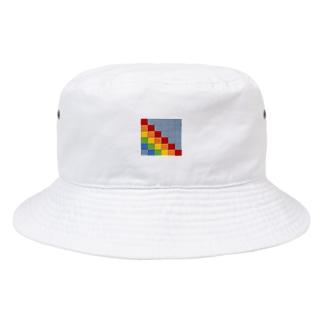 エクセルレインボー Bucket Hat