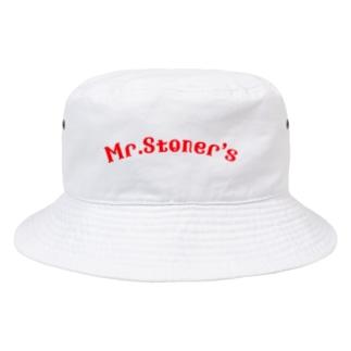 Mr.Stoner'sのMr.Stoner's logo Bucket Hat