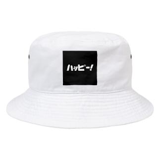 sacchestのハッピー!ブラック Bucket Hat