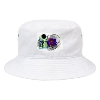 色彩の暴力ハウス 1棟 Bucket Hat
