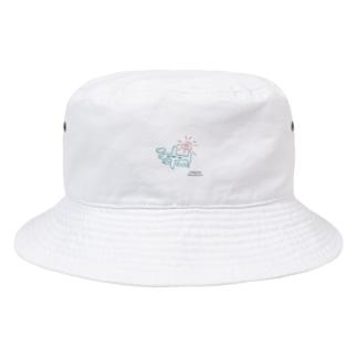 ひこうき Bucket Hat