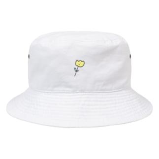 おはなさんバケットハット ( きいろ ) Bucket Hat