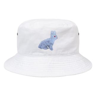 ネズボウの白ウサギの誘惑❤️ Bucket Hat