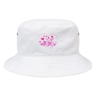 食いしん坊ママの♡ドキドキ♡ Bucket Hat