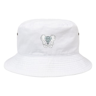 OGNdesignの骨盤 骨 NO.24 Bucket Hat