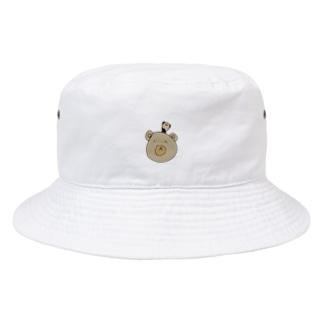 くまさんだ。 Bucket Hat