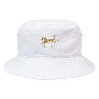 OGNdesignの猫 ねこ NO.34 Bucket Hat