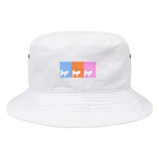 しばいぬさん  10・11・12ミックス Bucket Hat