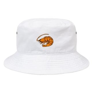 海老 エビ shrimp NO.36 Bucket Hat