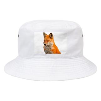TK-marketの3D フォックス Tシャツ Bucket Hat
