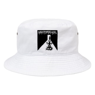 NIGHTMARE GIRL LT Bucket Hat