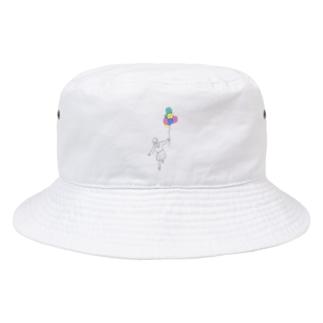 そらとぶおんなのこ Bucket Hat