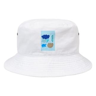 ブルースクリーン Bucket Hat