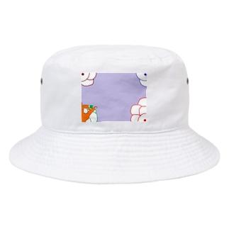 隠岐の昔の遊び Bucket Hat