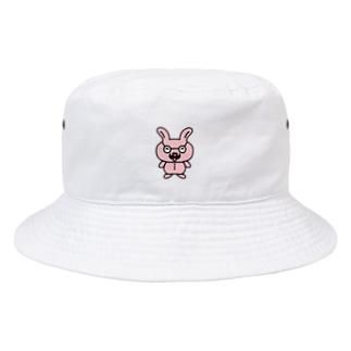 おじさんウサギ Bucket Hat