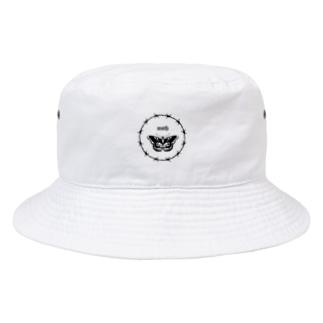 yuuxx106の蛾ですバケハ Bucket Hat