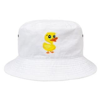 TK-marketの可愛いアヒル Tシャツ Bucket Hat