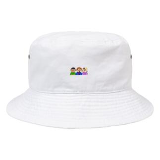 びっくり3兄弟 Bucket Hat