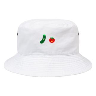 お野菜カッパちゃん Bucket Hat