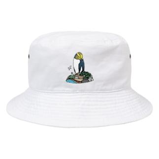 キガシラペンギン Bucket Hat