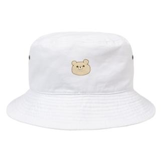 くまくまさん真顔 Bucket Hat