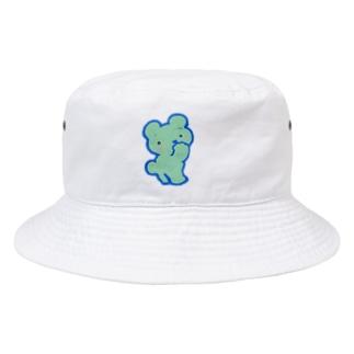 ブルーベア Bucket Hat