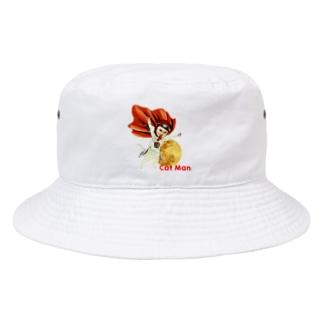 CAT MAN Bucket Hat