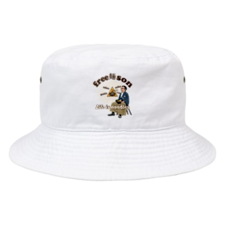 キッズモード某のフリー麺ソン 龍馬 Bucket Hat