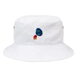 kaisei-gahakuの宇宙 Bucket Hat