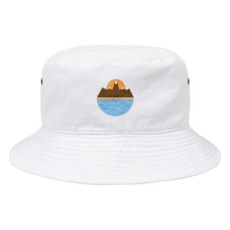 山登り Bucket Hat