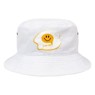 目玉焼きくん Bucket Hat