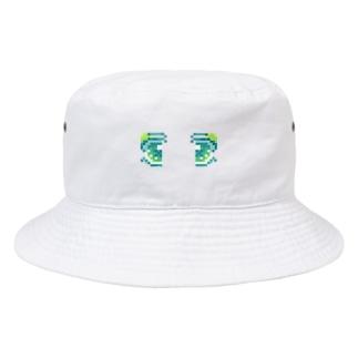 ドット絵おめめ Bucket Hat